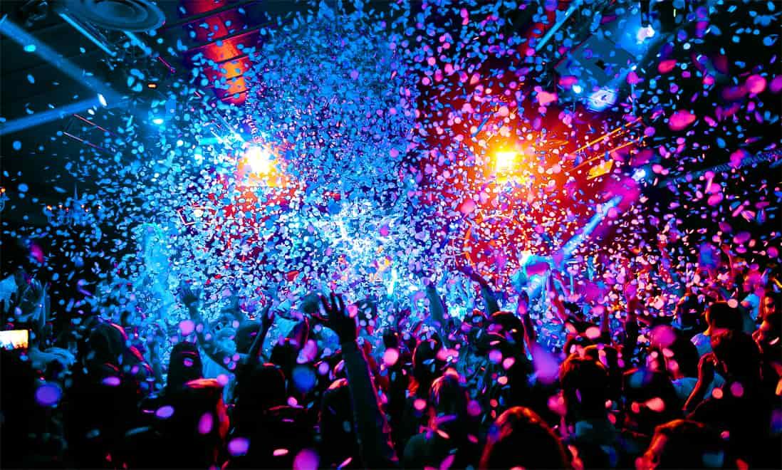 ночные клубы с дискотеками