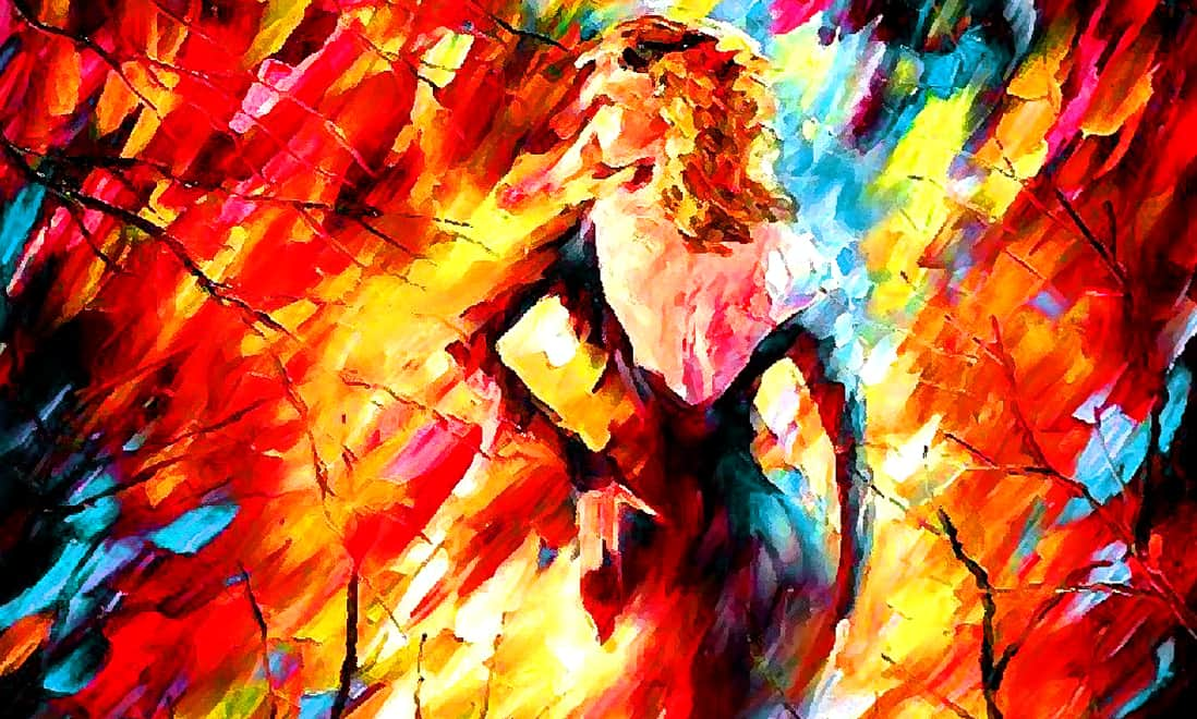 Испания — темпераментная дама в красном платье