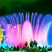 Барселона. Волшебный фонтан Монжуика