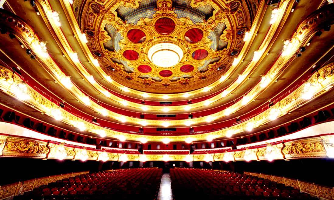 Барселона. Театр Лисеу