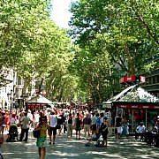Барселона. Ла Рамбла (La Rambla)