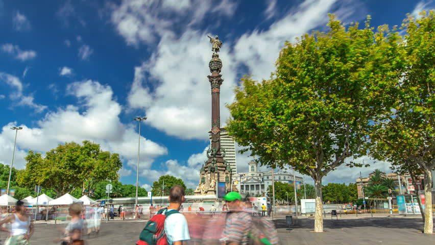 Барселона: Памятник Колумбу