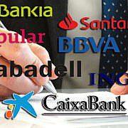 Испанский банк. Открытие счета
