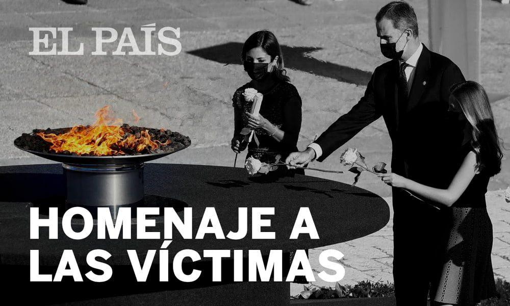 В Мадриде состоялась траурная церемония в память о жертвах COVID-19