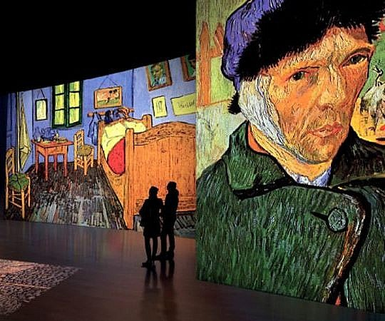 Мультимедийная выставка Van Gogh Alive @ Baluarte, Palacio de Congresos y Auditorio de Navarra