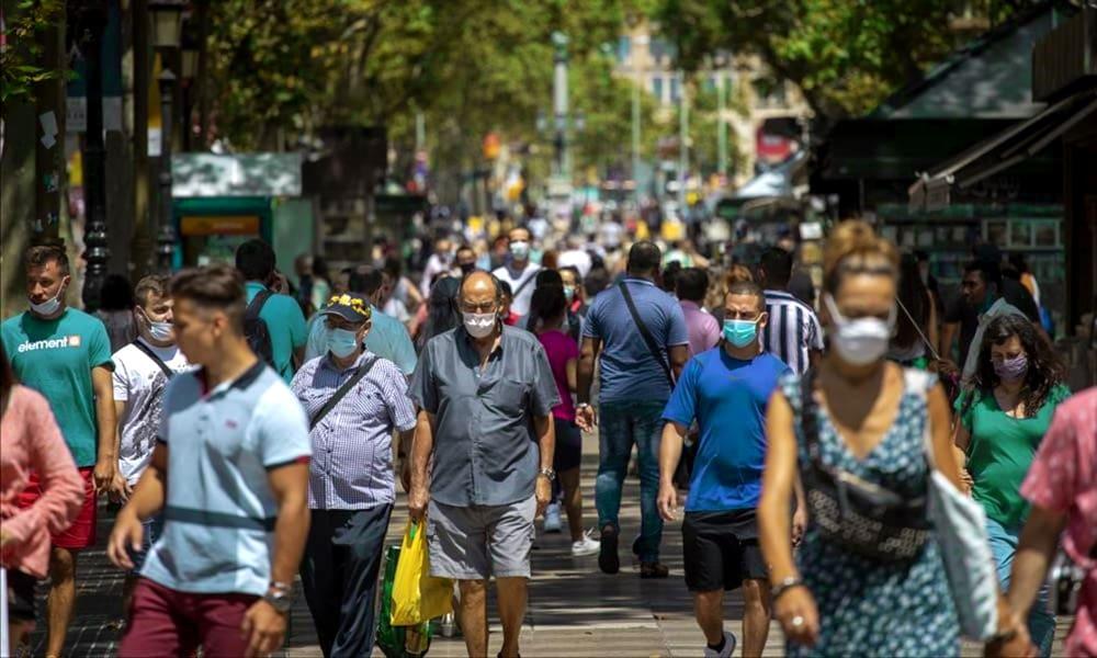 Барселона отступает, чтобы остановить инфекцию
