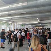 В аэропорту Майорки пробка из пассажиров