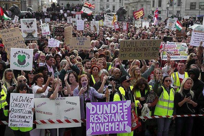 Европейские протесты из-за новых ограничений