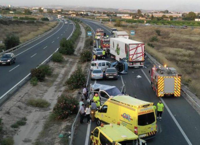 авария в Испании