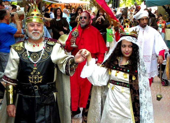 Салоу. Фестиваль Короля Хайме Первого