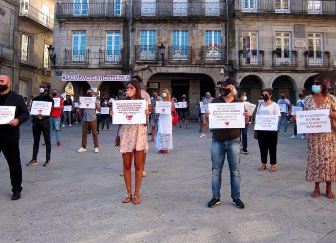 В Мадриде протестует гостиничный сектор