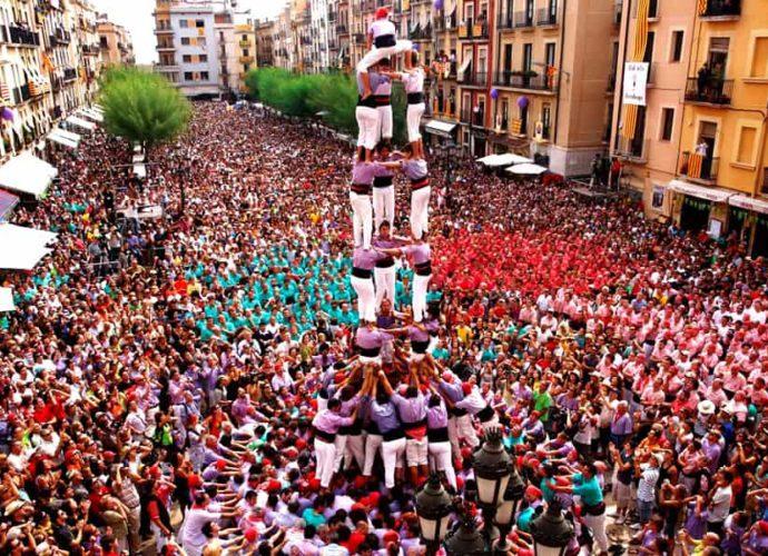 Барселона. Фестиваль «Ла Мерсе»