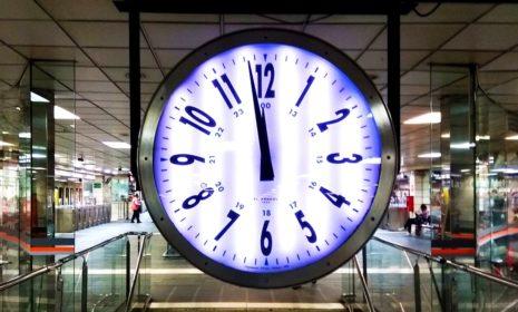 Перевод часов на зимнее время в Испании