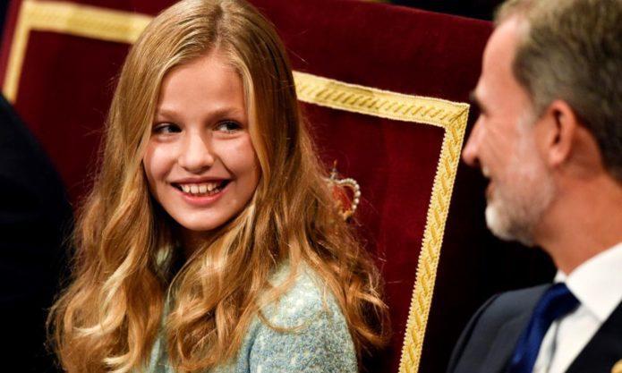 15-летняя принцесса Испании Элеонора призвала сверстников к адаптации