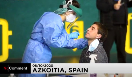 Как тестируют на коронавирус в Стране Басков