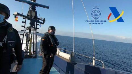 Испания. Морская погоня за катером с наркоторговцами была успешной