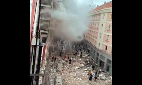 В центре Мадрида прогремел сильный взрыв