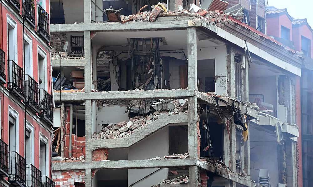 Увеличилось число погибших в результате взрыва жилого дома в Мадриде