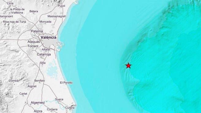 За ночь зафиксировано три землетрясения в Валенсии