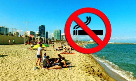 Барселона запретит курение на четырех пляжах с мая