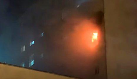 В испанском госпитале больной Covid-19 устроил пожар при попытке побега