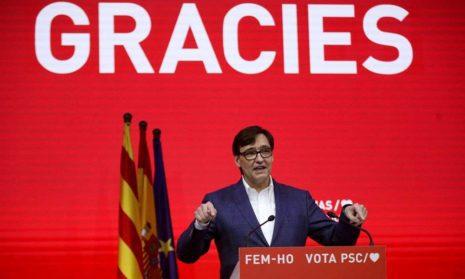На выборах победили сторонники отделения Каталонии от Испании