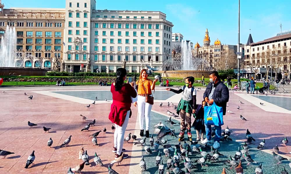 Страны, которые налагают вето на поездки из Испании