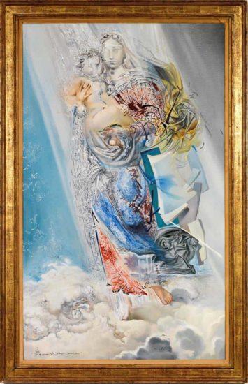 «Космическая Мадонна» Сальвадора Дали выставлена на продажу