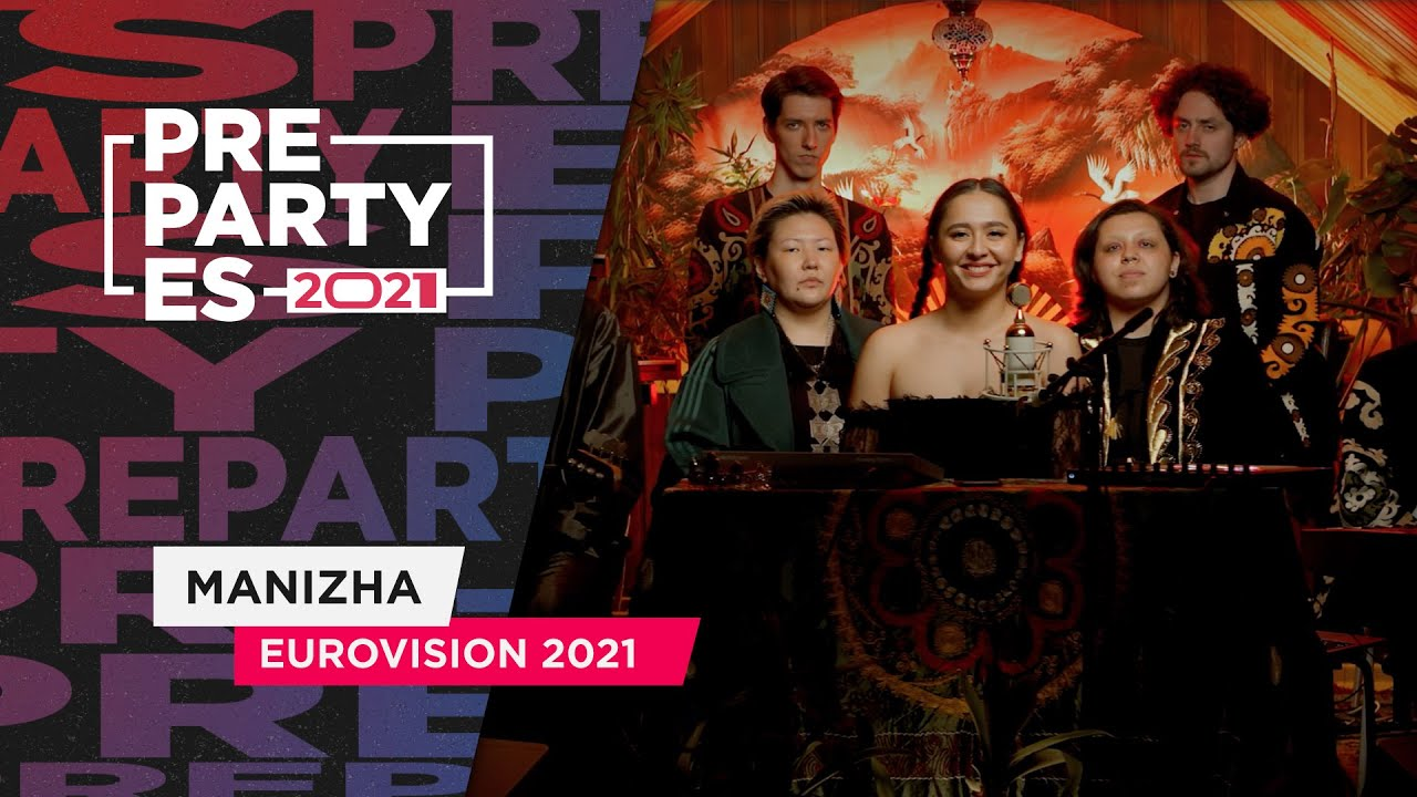 Manizha исполнила песню группы «Тату» на препати Евровидения в Испании