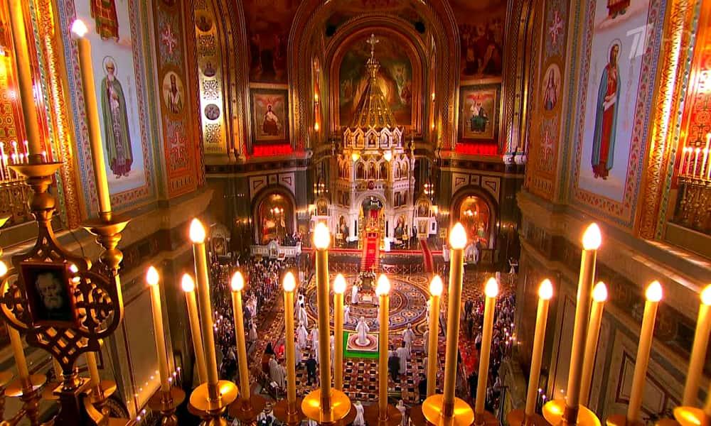 Православный мир отмечает Пасху