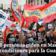 Полицейские в Испании вышли на акцию протеста из-за зарплат