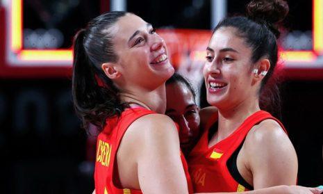 Женская сборная Испании по баскетболу обыграла Сербию на Олимпиаде в Токио