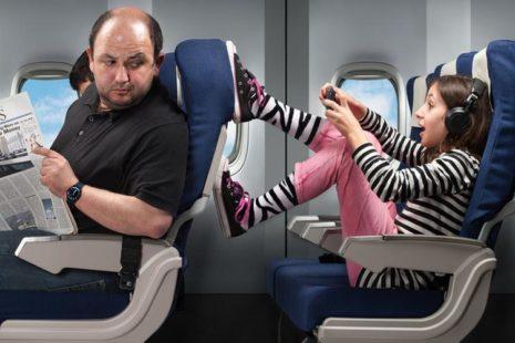 Japan Airlines: есть способ рассадить в полете нервных пассажиров и плачущих детей