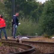 У границы Испании и Франции поезд сбил трёх человек